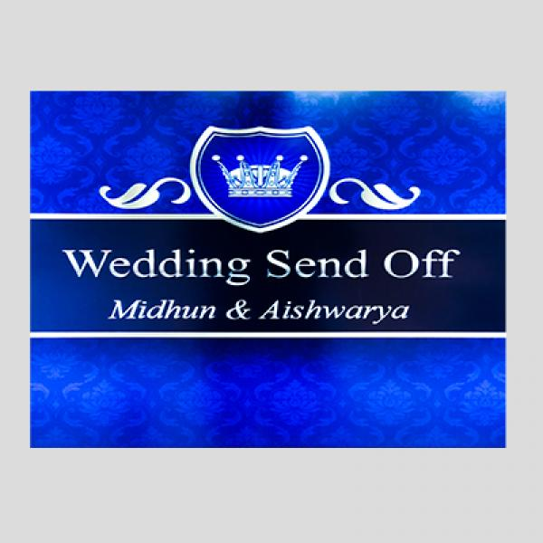 Midhum & Aishwarya Wedding Send Off Party - Chez Charlene Wedding Venue